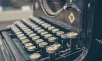 Gors plan, machine à écrire - Digitalisations