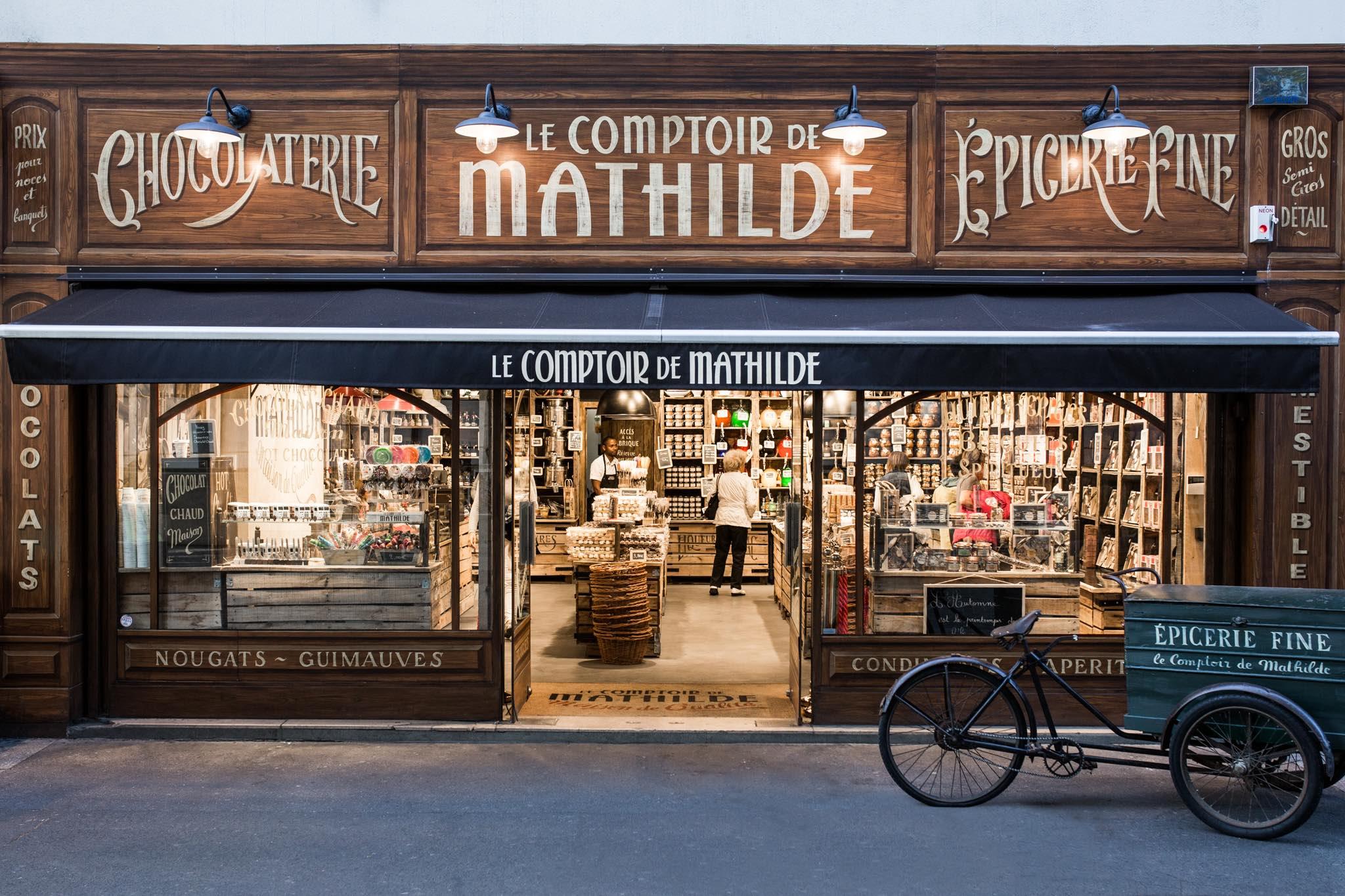 Luc moulin le comptoir de mathilde notre d fi for Le comptoir du meuble bruxelles